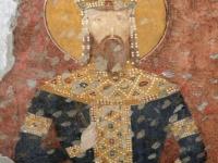 Святой краль Милутин, ктитор храма