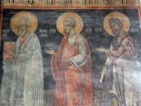 Святые апостолы Иоанн Богослов, Лука и Андрей