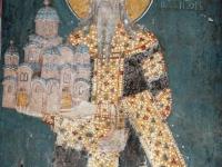 Святой Король Милутин Неманич - критор Грачаницы