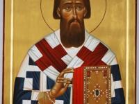 Святитель Савва, архиепископ Сербский. Современная икона.