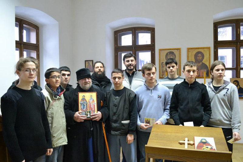 В гостях у семинаристов в Призрене