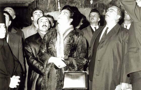 Иосиф Броз Тито и Йованка в Печской Патриархии. 1967 г.